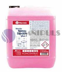 Merida NML603 - Prostředek na koupelny NANO SANITIN Plus 10 l.
