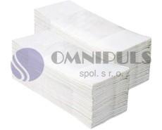 Merida PZ93.1 - Jednotlivé papírové ručníky Z TOP 2860 ks - 100% celuloza, skládané