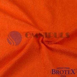 Brotex Froté prostěradlo na jednolůžko 90*200cm, oranžové (049)