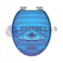 Eisl Sanitär BLUE DROP 80125, Wc sedátko, MDF, soft close