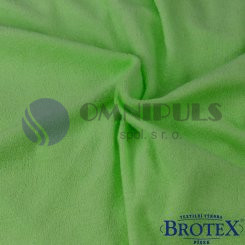 Brotex prostěradlo froté světle zelené 90x200, (052)
