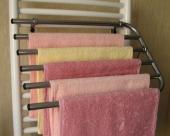 Sušák ručníků na otopné těleso CHROMLAK V560 - na 5 ručníků, rozbalené zboží
