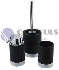 Nimco LIO set doplňků, Li 25000SET-90, dávkovač, pohárek, wc štětka