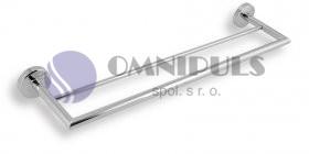 Novaservis Dvojitý držák ručníků 500 mm Metalia 11 chrom (0124,0)