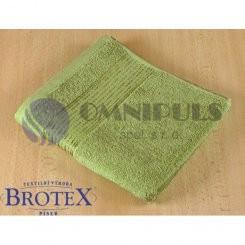 Brotex Froté osuška 70x140 cm proužek 450g olivová