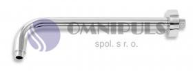 Novaservis Rameno pevné sprchy 350 mm chrom (RAM350,0)