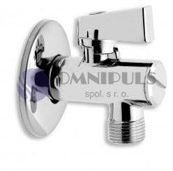 Novaservis Rohový ventil s filtrem, krytkou a kovovou pákou 1/2x3/8 (CF3010/10)