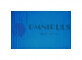 Ridder 01100303 STANDARD Pěnová rohož - modrá, 50 × 80 cm