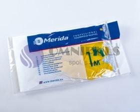 Merida TRY510 - Úklidové gumové rukavice ECONOMIC - S