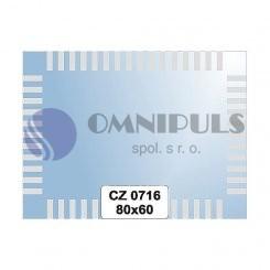 Ellux Ornamentální zrcadlo obdélníkové FBS CZ - 0716 (rozměr 80*60cm)