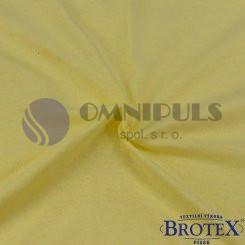 Brotex Jersey prostěradlo na jednolůžko 90*200cm, citrus (004)