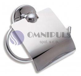 Novaservis 6138,0 Závěs toaletního papíru s krytem Metalia 1 chrom