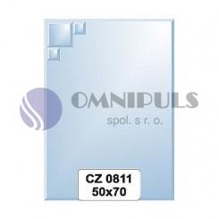 Ellux Zrcadlo s dekorací FBS CZ - 0811 (rozměr 50*70cm)
