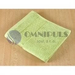 Brotex Froté ručník 50x100cm proužek 450g sv. zelená