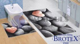 Brotex 3D 60x100+60x50cm Tmavé kameny DS68900186