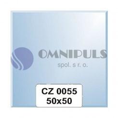 Ellux Zrcadlo čtverec s fazetou FBS CZ - 0055 (rozměr 50*50cm)