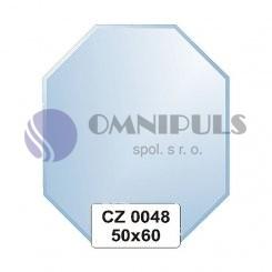 Ellux Zrcadlo osmiúhelník s fazetou FBS CZ - 0048 (rozměr 50*60cm)