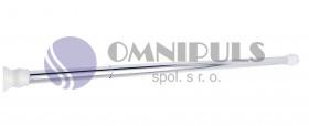 Ridder 55100 Tyč pro sprchový závěs, teleskopická - chrom 70 - 115 cm