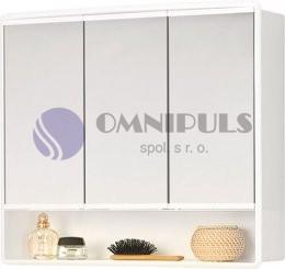 Jokey LYMO Zrcadlová skříňka - bílá - š. 59 cm, v. 50 cm, hl. 15 cm 84132-011
