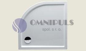 RIHO 284 DA92 sprchová vanička 100*100*4,5cm bez panelu a nožiček (R 55)