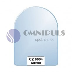 Ellux Zrcadlo zaoblené s fazetou FBS CZ - 0004 (rozměr 60*80cm)