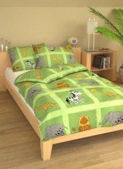 Brotex Safari zelené bavlna 45/60+90/135 cm