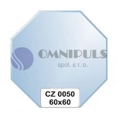 Ellux Zrcadlo osmiúhelník s fazetou FBS CZ - 0050 (rozměr 60*60cm)