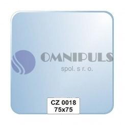 Ellux Zrcadlo zaoblené s fazetou FBS CZ - 0018 (rozměr 75*75cm)