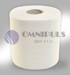 Merida RTB1633 - Papírové ručníky v rolích MAXI, 2 - vrst., 100% celulóza, 100 m, (6 rolí/bal)