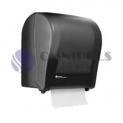 Merida CJC302 - Mechanický podavač papírových ručníků SOLID CUT, černý, MAXI role