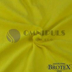 Brotex Froté prostěradlo na jednolůžko 90*200cm, citron (043)