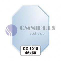 Ellux Zrcadlo osmiúhelník s fazetou FBS CZ - 1015 (rozměr 45*60cm)