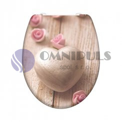 Eisl Sanitär ROMANTIC 82370, Wc sedátko, duroplast, soft close