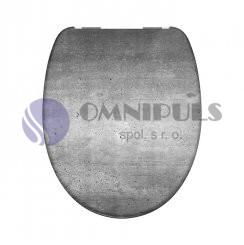 Eisl Sanitär Industrial Grey 82155, Wc sedátko, duroplast, soft close