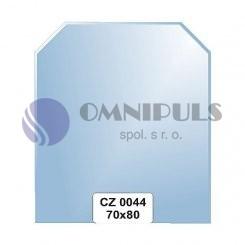 Ellux Zrcadlo šestiúhelník s fazetou FBS CZ - 0044 (rozměr 70*80cm)