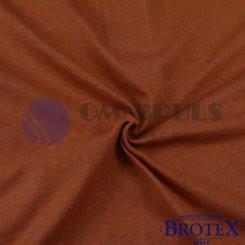 Brotex Froté prostěradlo na jednolůžko 90*200cm, hnědé (017)