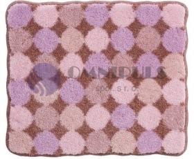 Grund koupelnová předložka Agarthi, broskvová-růžová, 50x60cm