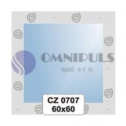 Ellux Ornamentální zrcadlo čtvercové FBS CZ - 0707 (rozměr 60*60cm)