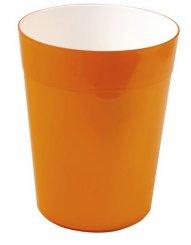 Sapho 22020614 Neon dpadkový koš, oranžová, výprodej