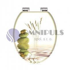 Eisl Sanitär BALANCE 80122, Wc sedátko, MDF, soft close