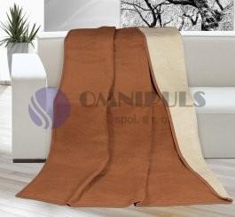Brotex deka kira plus hnědá/béžová 150x200