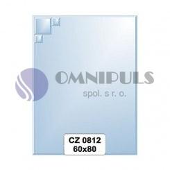 Ellux Zrcadlo s dekorací FBS CZ - 0812 (rozměr 60*80cm)