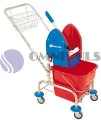 Merida MO2 - Úklidový vozík jednokbelíkový,pochromovaná konstrukce (MO2)