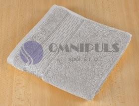 Brotex Froté ručník 50x100cm proužek 450g šedá