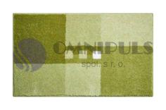 GRUND MERKUR zelená 70x120 cm, koupelnová předložka, doprodej
