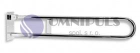 Novaservis Úchyt dvojitý sklopný 852mm leštěná nerez R66813,44