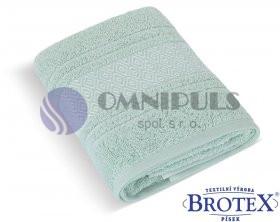 Brotex Froté ručník Mozaika 550g mint 50 x 100 cm