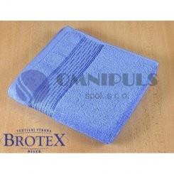 Brotex Froté osuška 70x140 cm proužek 450g modrá