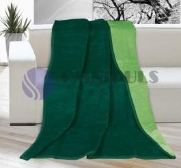 Brotex deka kira plus tmavě zelená/zelená 150x200