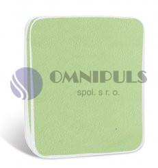 Brotex Prostěradlo mikroflanel světle zelené 90x200